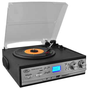 Turntable Multimedia System
