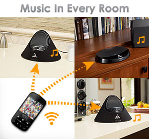 Phorus PS1 Speaker with Multi-Room Wi-Fi Audio Streaming for Android