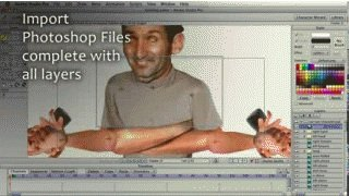 import from photoshop