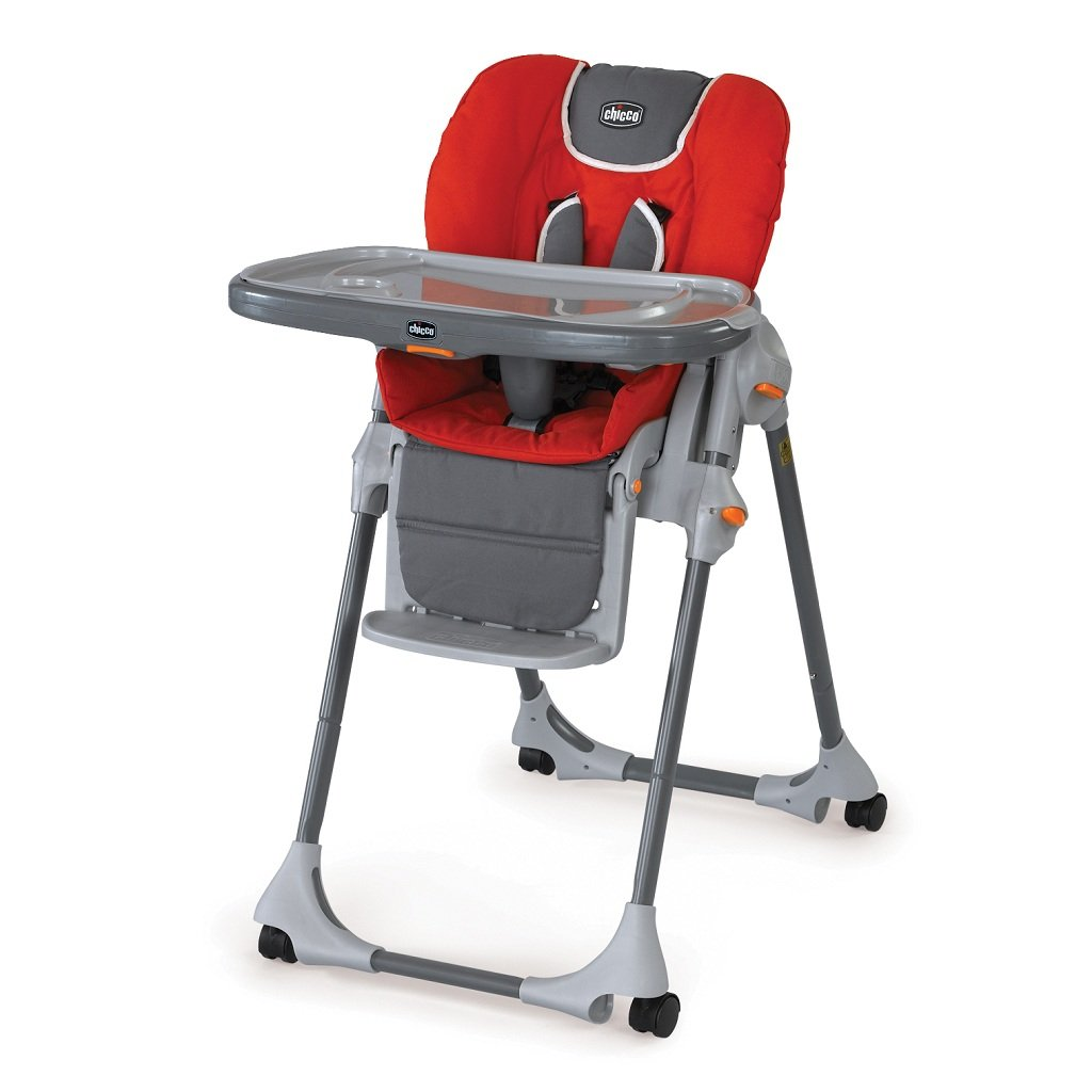 chicco polly pad fabric highchair