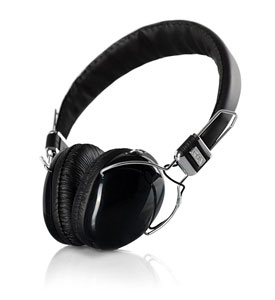 Rear and profile view of SA950i on-ear headphones