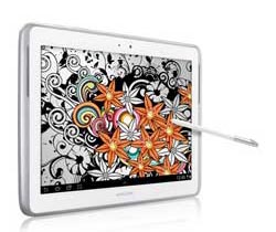 Samsung GalaxyNote101white img1 Samsung Galaxy Note 10.1 (16GB, White)