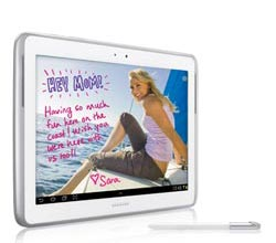 Samsung GalaxyNote101white img2 Samsung Galaxy Note 10.1 (16GB, White)