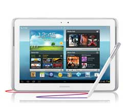 Samsung GalaxyNote101white img6 Samsung Galaxy Note 10.1 (16GB, White)