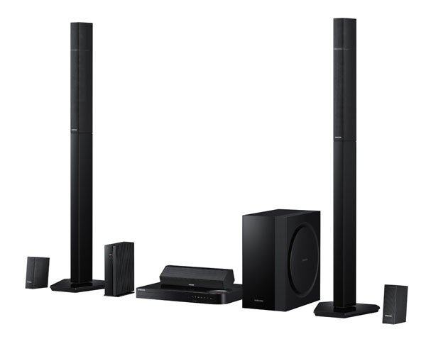 samsung ht h7730 7 1 channel 1330 watt 3d blu ray home theater system 2014 model. Black Bedroom Furniture Sets. Home Design Ideas