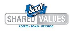 Scott Shared Values Program For All Scott Paper Products. Get Deals, Rewards, and Access. Sign Up Today!