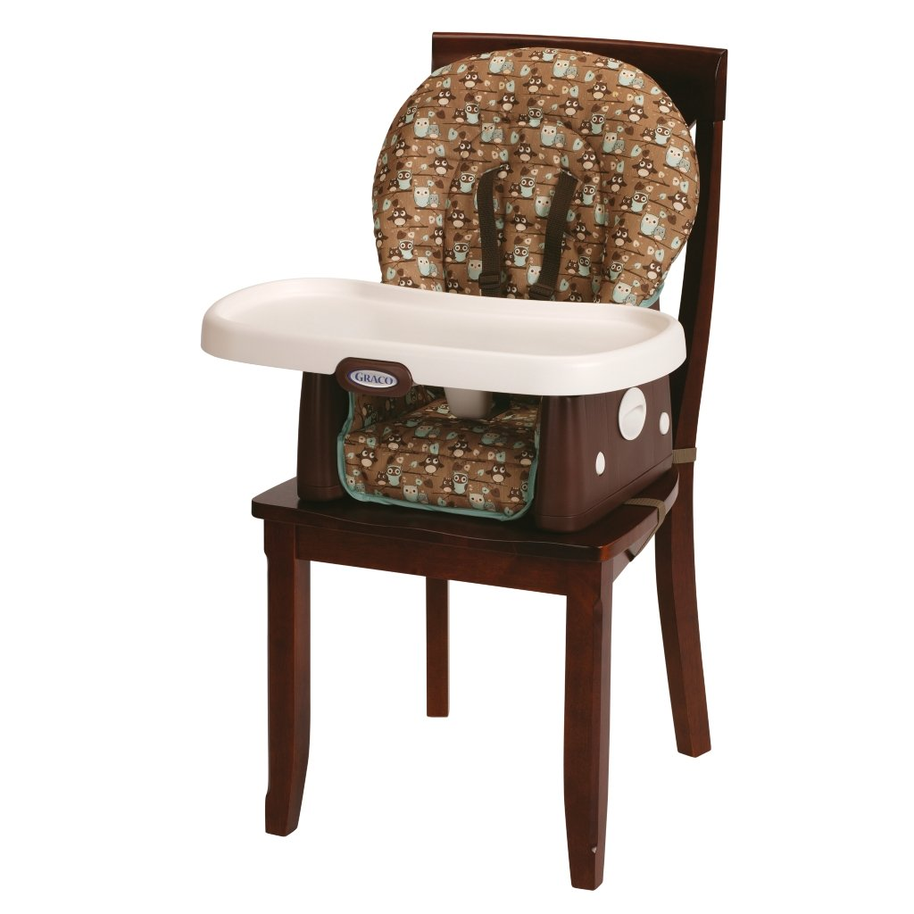 Amazon.com : Graco SimpleSwitch Highchair and Booster, Little Hoot : Childrens Highchairs : Baby