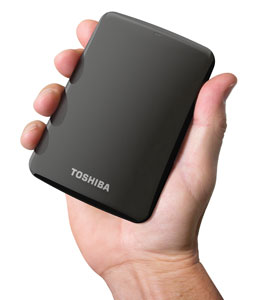 Canvio Connect Portable External Hard Drive