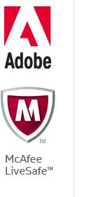 Adobe | McAfee LiveSafe