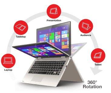 Toshiba Touch Screen Laptop 11.6 Radius