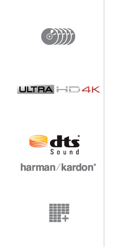 Optival Drive | Ultra HD 4K | DTS® Sound | Harman/Kardon® | Resolution+®