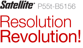 Satellite® P55t-B5156 | Resolution Revolution!