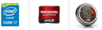Intel® Core™ i7 processor | AMD Radeon™