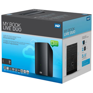 WD My Book Live Duo Box