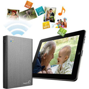 Seagate Wireless Plus - Access content on the go