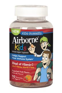 Airborne Gummies Kids 42 ct. Product Shot