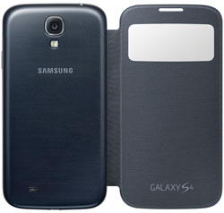 Samsung S-View Flip Cover Case for Samsung Galaxy S4