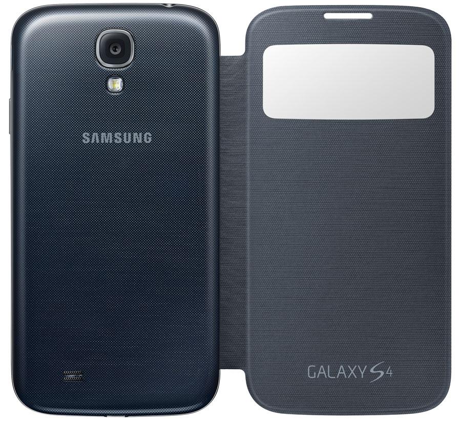 Amazon.com: Samsung Galaxy S4 S-View Flip Cover Folio Case