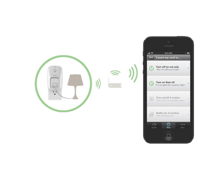 Belkin Wemo Switch Control Your Electronics From Anywhere