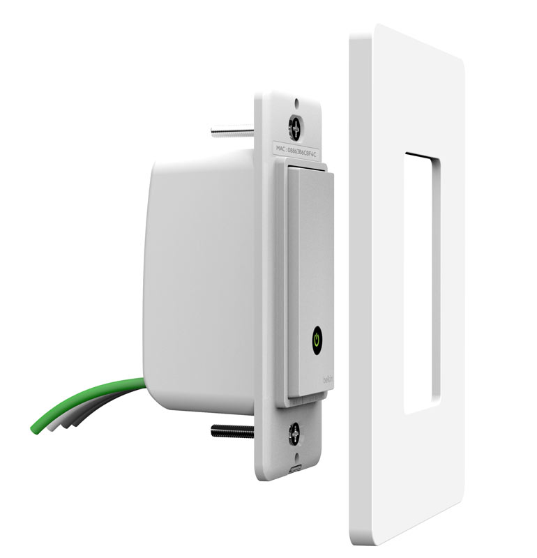 belkin wemo light switch wi fi enabled
