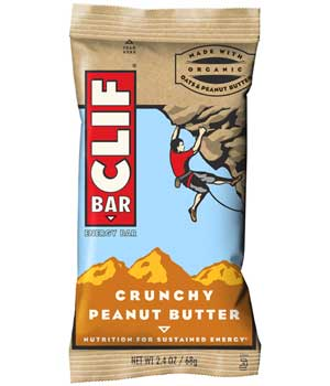 CLIF Bar Crunchy Peanut Butter Product Shot