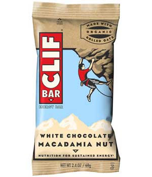 CLIF Bar White Chocolate Macadamia Nut Product Shot