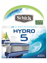 Hydro 5 Blade Refill, 4 count