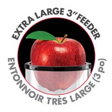 Extra Large 3-inch Feeder