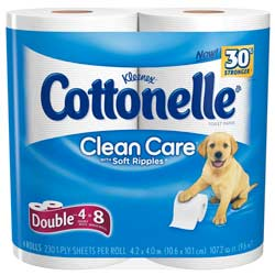 Cottonelle Clean Care Toilet Paper Product Shot