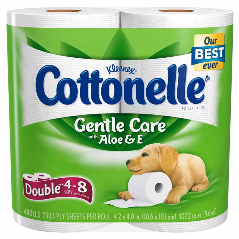 Amazon Com Cottonelle Gentle Care Toilet Paper With Aloe