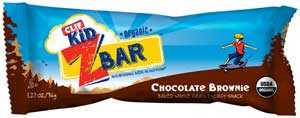 CLIF Kid Zbar Chocolate Brownie, 18ct Product Shot