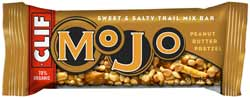 CLIF MOJO Sweet & Salty Trail Mix Bar Peanut Butter Pretzel Product Shot