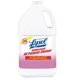 Professional LYSOL Brand Antibacterial All Purpose Cleaner (1 Gallon) Product Shot