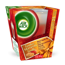 AIR WICK Small Candles Warm Apple Pie (3 Ounces)
