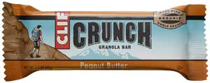 CLIF CRUNCH Peanut Butter Granola BarProduct Shot