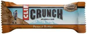 CLIF CRUNCH Peanut Butter Granola BarProduct Shot