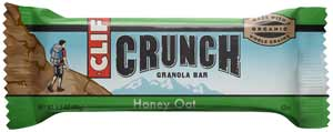 CLIF CRUNCH Honey Oat Granola BarProduct Shot