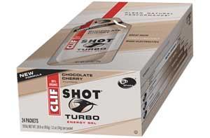 CLIF Shot Turbo Energy Gel, Chocolate Cherry w/ Caffeine, 24 pk Product Shot
