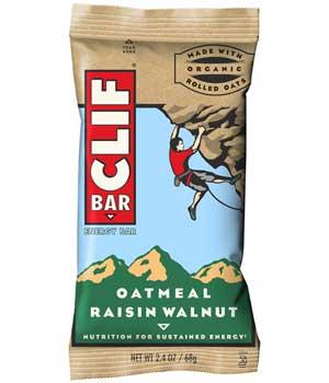 CLIF Bar Oatmeal Raisin Walnut Product Shot