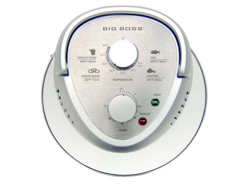 Food Preparation: BIG BOSS 1300-Watt Oil-Less Fryer 16-Quart