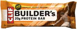 CLIF Builder's Bar Crunchy Peanut Butter Product Shot