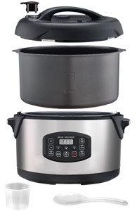 Big Boss 1300-Watt Stainless Steel Oval Pressure Cooker, 8.5-Quart Product Shot