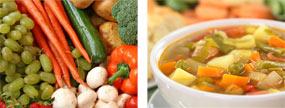 Helps you create homemade soups