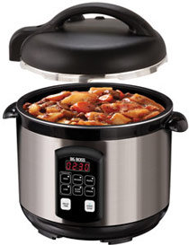 Big Boss 900-Watt Stainless Steel Pressure Cooker, 5-Quart Product Shot