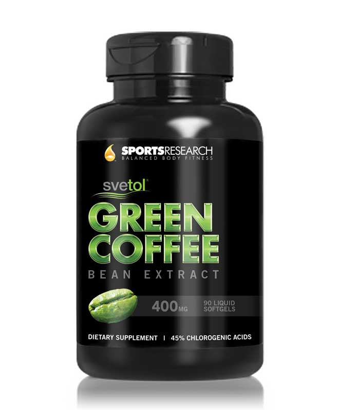 Svetol Green Coffee Bean Extract Liquid Softgel Clinically Proven Svetol per Cap eBay