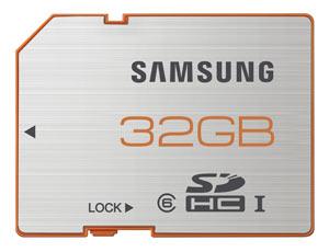 Samsung SDHC Plus UHS-1 Class 6 Memory Card (32 GB) Product Shot