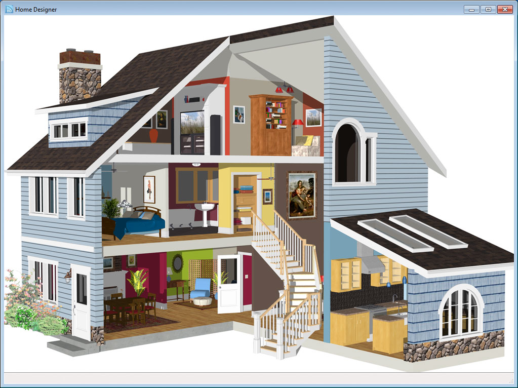 Home designer essentials 2014 software for House designers