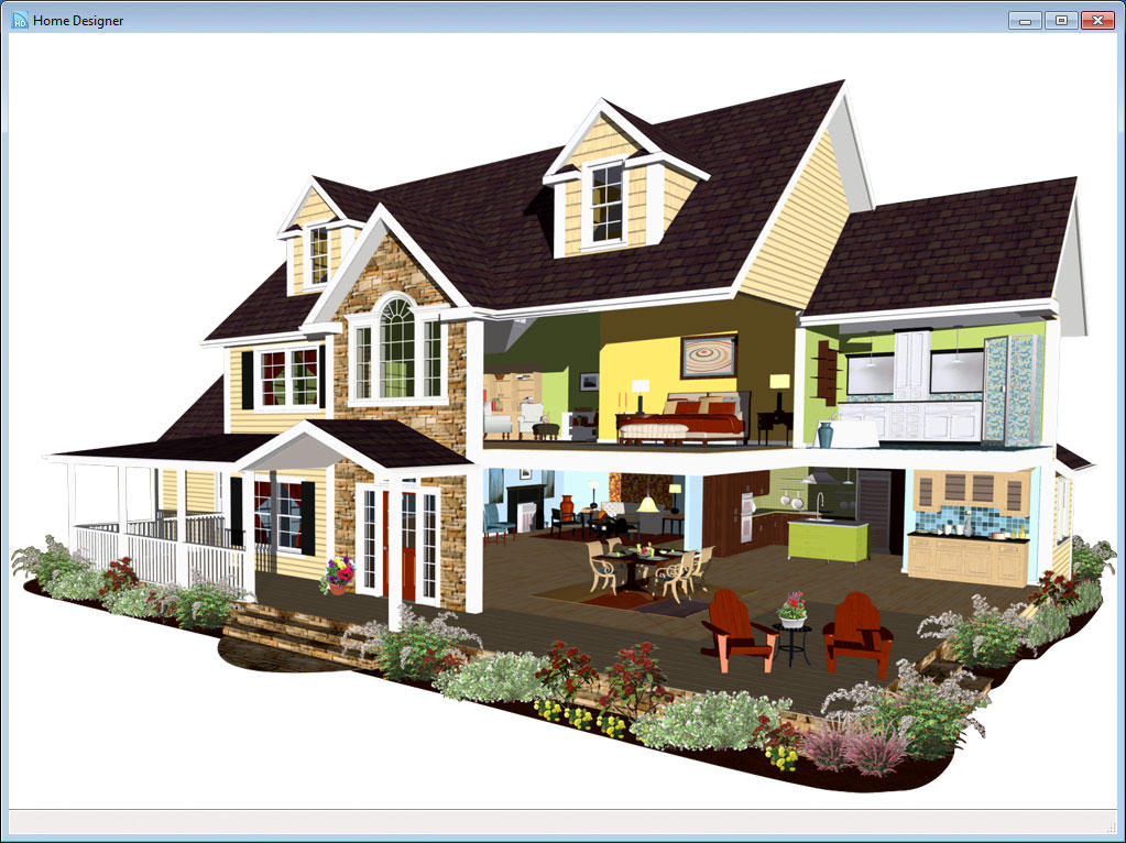 Home designer suite 2014 software for Home designer architectural