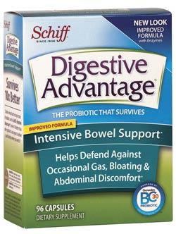 Digestive Advantage Intensive Bowel Support - Capsule 36/96 ct. Product Shot