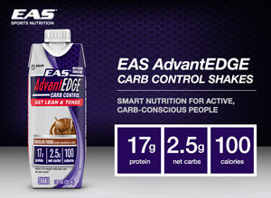 EAS AdvantEdge Carb Control Shakes